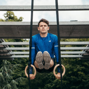 Strength training in the Pyrenees during a wellness retreat with Max Lowery and Connect Retreats